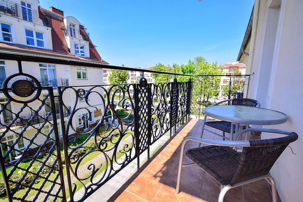 Apartament, 1 sypialnia (Uzdrowiskowa 11) - Balkon