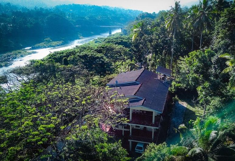 Riverine Cascade, Kandy, Ansicht von oben