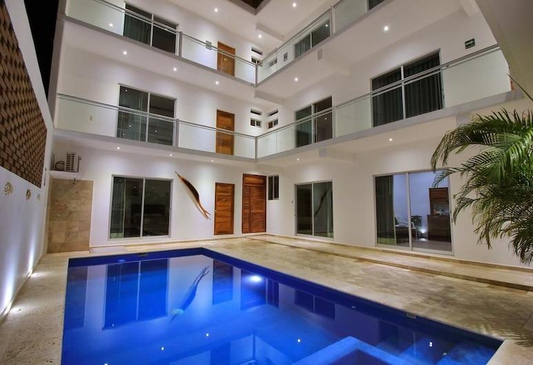 Hotel Casa Pridda Suites & Studios at Zicatela Beach , Puerto Escondido, Recepció