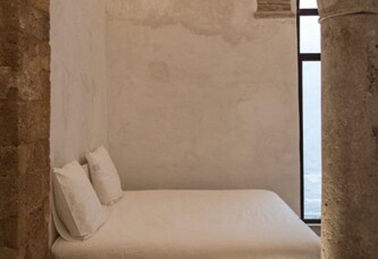 La Chambre Bleue, Tunis, Dizajnerska dvokrevetna soba, 1 spavaća soba, privatna kupaonica, dvorište (Le Makhzen), Soba za goste