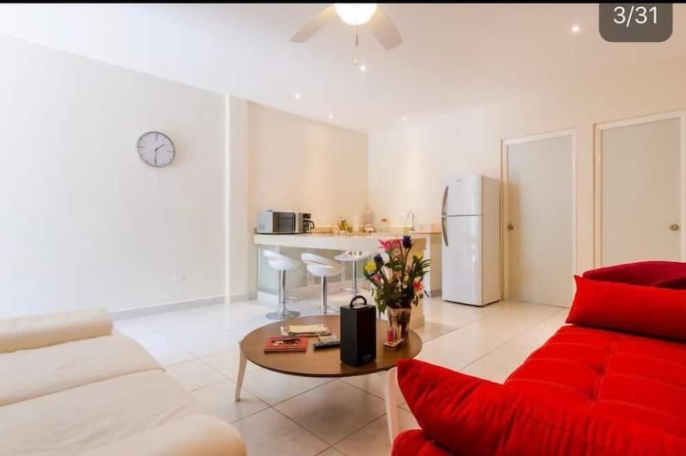 Exclusief appartement, 2 slaapkamers - Woonruimte