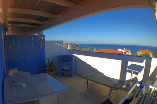 スタジオアズーロの素晴らしい海の景色、無料WiFi、新しい設備、エアコン/