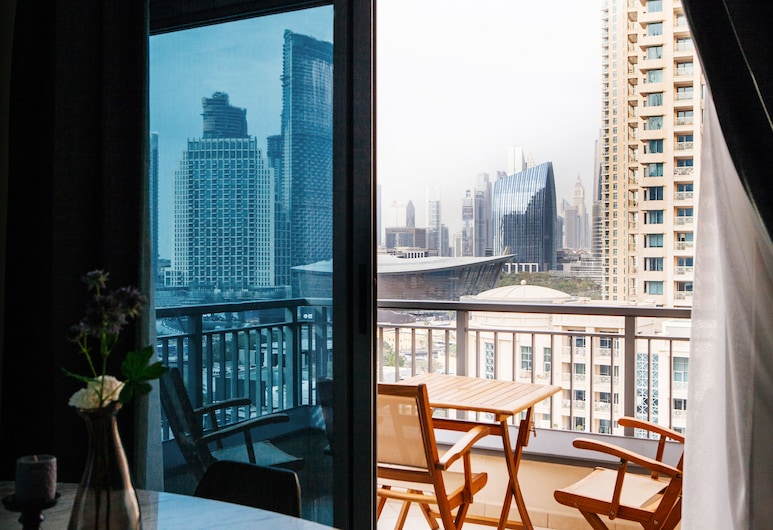 Fantastay - Portokal Downtown Dubai, Dubai, Apartment, 2 Bedrooms, Balcony