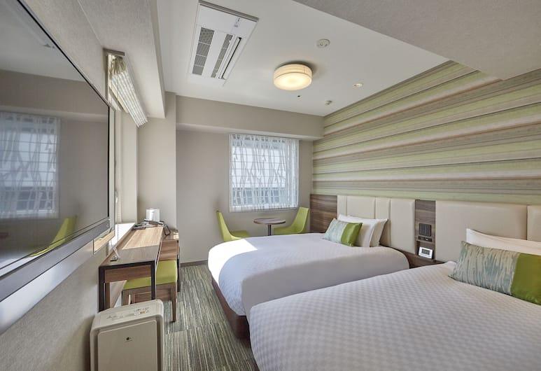 Hearton Hotel Shinsaibashi Nagahoridori, Osaka, Standard Twin Room, Non Smoking, Guest Room