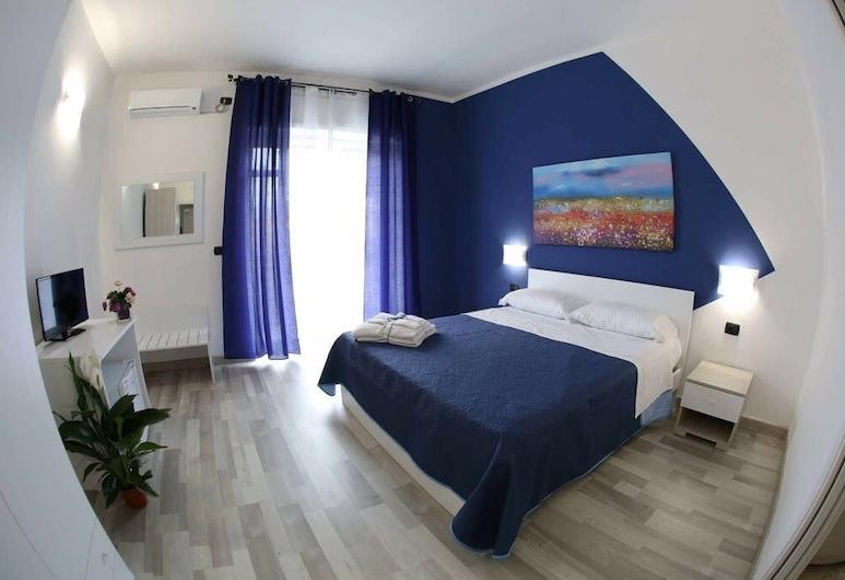 Mirosa Bed and Breakfast, Pompeia, Quarto casal luxo, Banheira de hidromassagem, Vista para a cidade, Vista (do quarto)