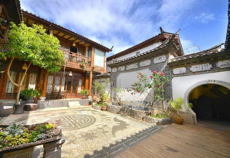 Kang Mei Zhi Lian Guest House, Lijiang, Bahçe