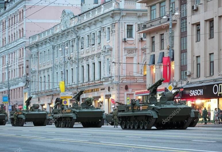 Mini-hotel Solotel, Moskwa, Z zewnątrz