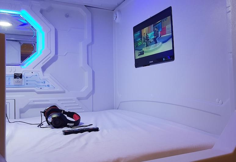 Galaxy Pods at Chinatown, Singapūras, Double Capsule, Svečių kambarys