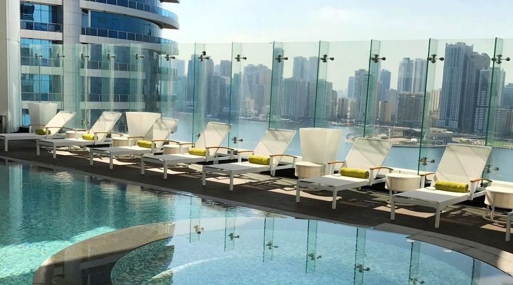 The Act Hotel Sharjah Outdoor Pool