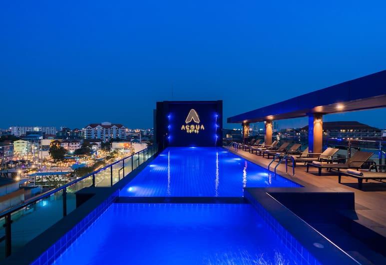 Acqua Hotel, Pattaya, Rooftop Pool