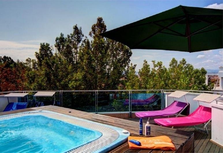 Residence Marconi Mare, Rimini, Kültéri jacuzzi