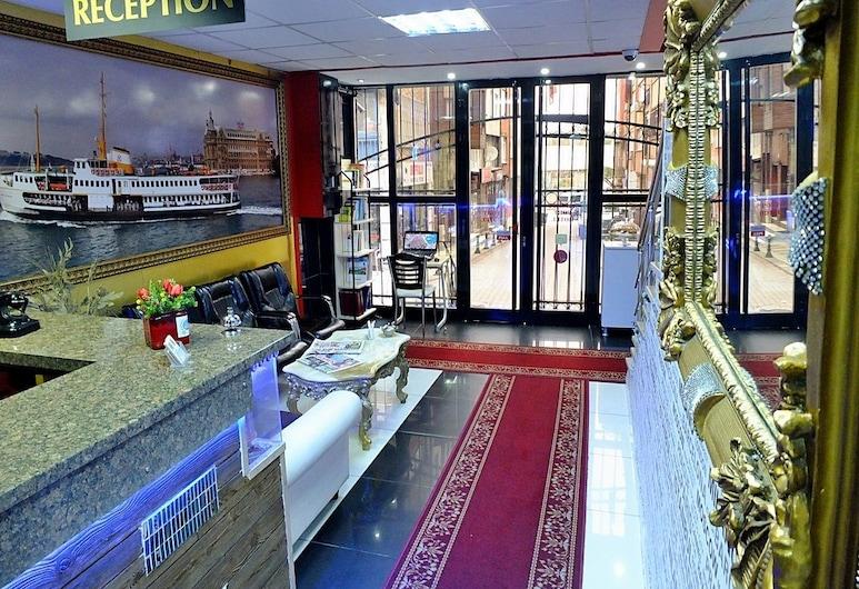 Kadikoy Port Hotel, İstanbul, Resepsiyon