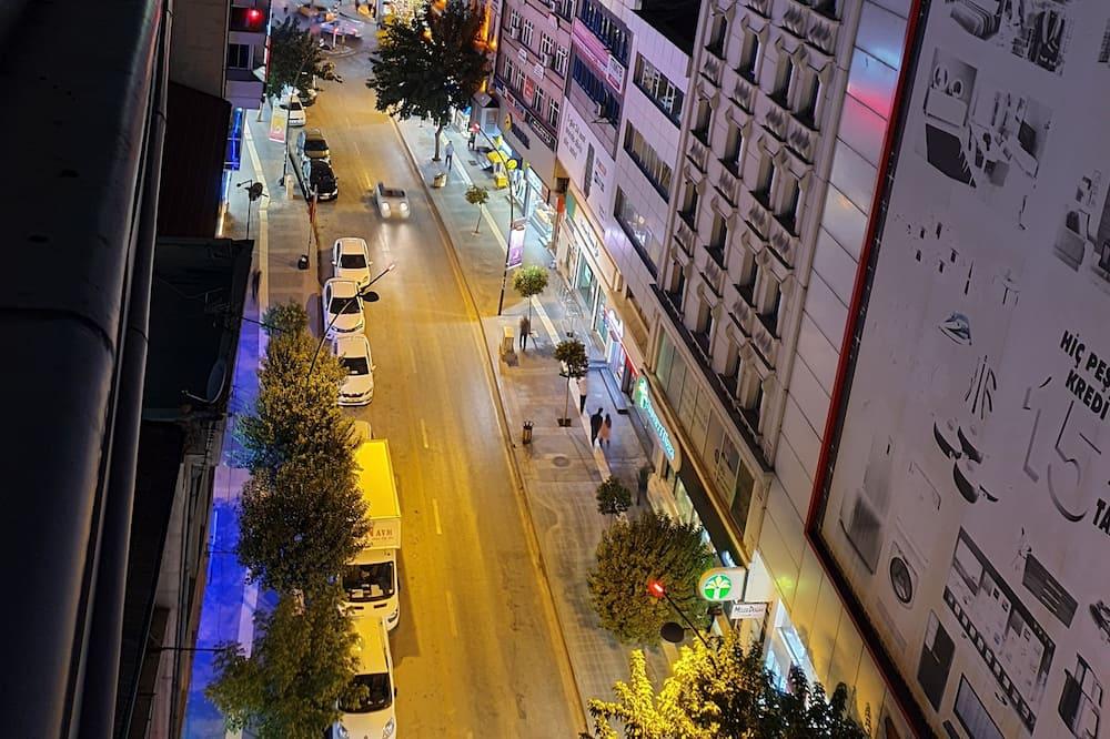 Classic-Zweibettzimmer - Blick auf die Stadt