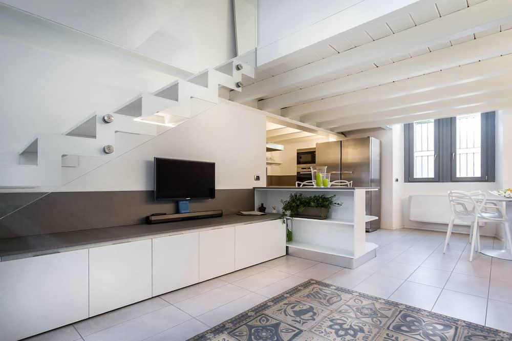 Loft (Como city) - Powierzchnia mieszkalna