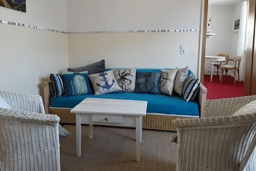 Comfort-studiosuite - 1 soveværelse - tekøkken - Stue