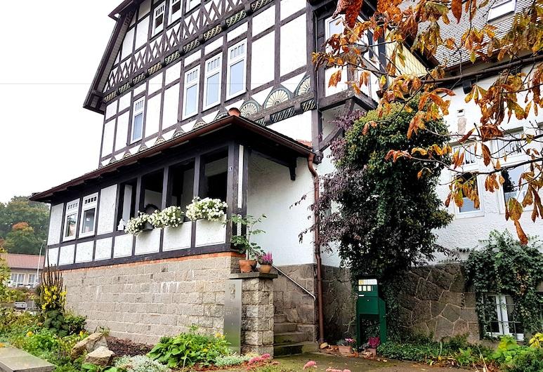 Goethes liebste Betten, Wernigerode, Fassade der Unterkunft
