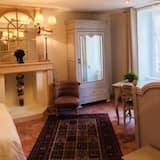 Třílůžkový pokoj typu Deluxe (Mathilde) - Obývací prostor