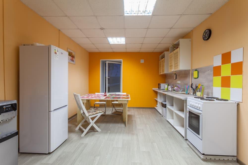 Twin kamer - Gemeenschappelijke keuken