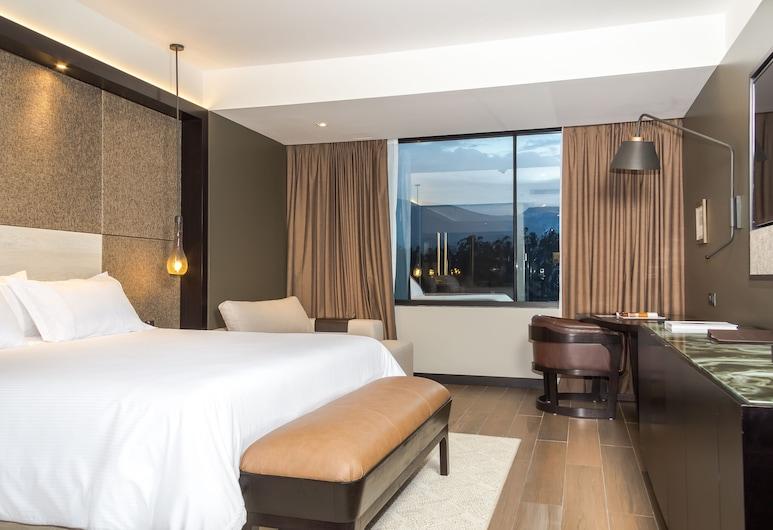 Eb Hotel By Eurobuilding Airport Quito, Tababela, Habitación Deluxe, 1 cama de matrimonio grande, vistas a la montaña, Habitación