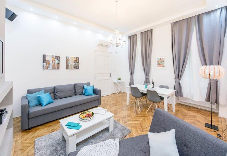 Oasis Apartments - Westend II, Budapest, Lägenhet, Vardagsrum