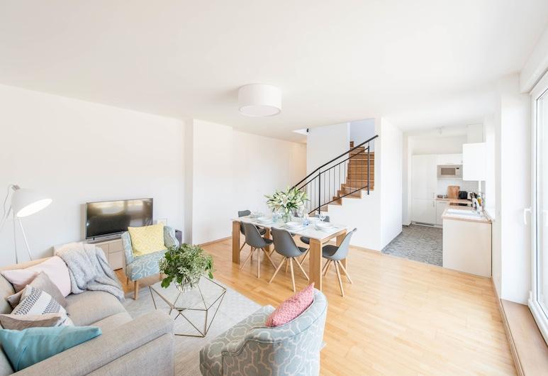 Oasis Apartments - Oktogon II, Βουδαπέστη, Luxury Ρετιρέ, Περιοχή καθιστικού