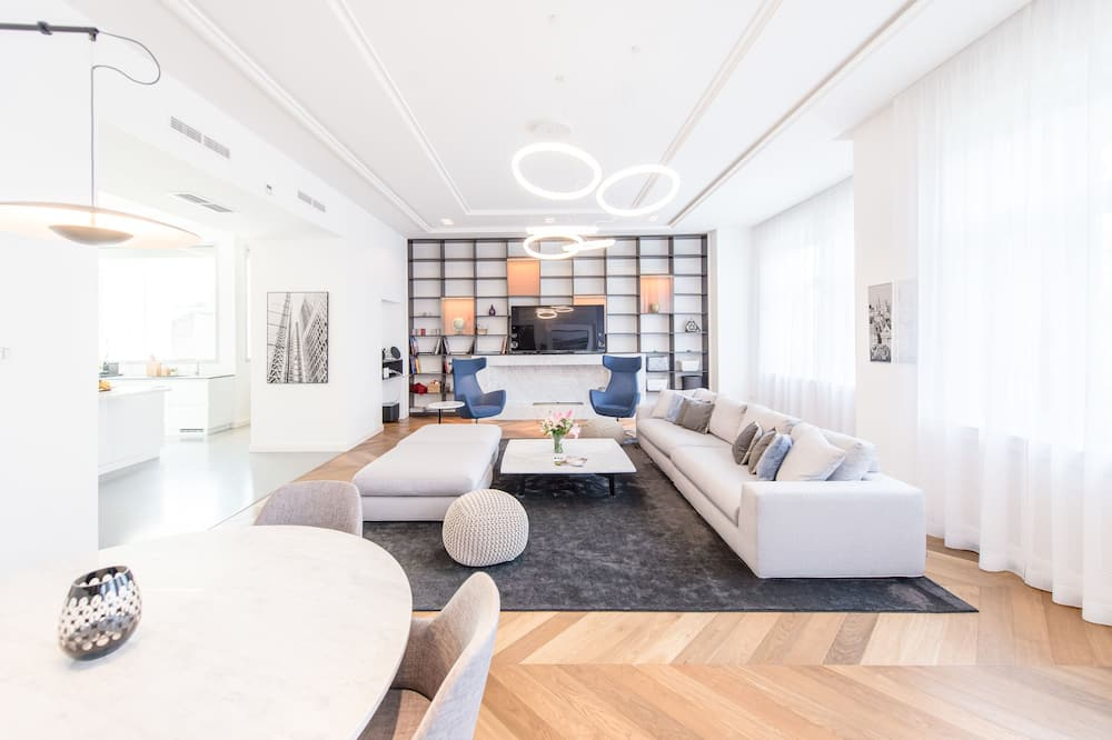Apartament typu Exclusive - Salon