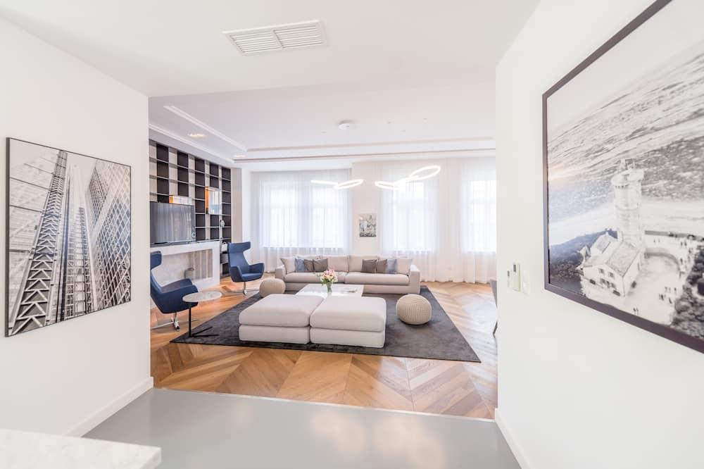 Apartament typu Exclusive - Powierzchnia mieszkalna