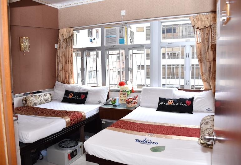 多倫多旅館, 香港, 家庭客房, 客房