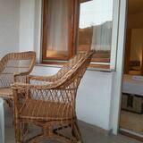 Lägenhet - 3 sovrum - utsikt mot floden (Two Balconies) - Balkong