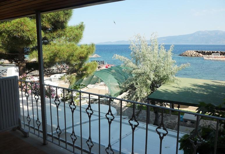 Bergos Liman Konuk Evi, Ayvacık, Panoramic Tek Büyük Yataklı Oda, Balkon