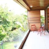 Luxe villa, 4 slaapkamers, roken, Uitzicht op zee - Balkon