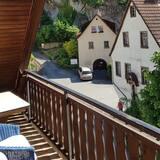 Chambre Triple, terrasse, côté montagne (Dachgeschoss) - Balcon