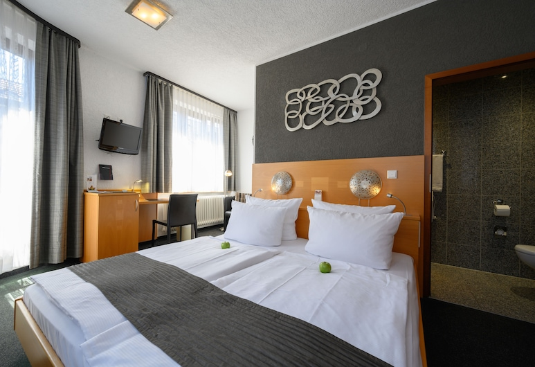 Hotel H.E.Y.M.A.N.N., Kaiserslautern, Departamento Confort, 2 habitaciones, Habitación