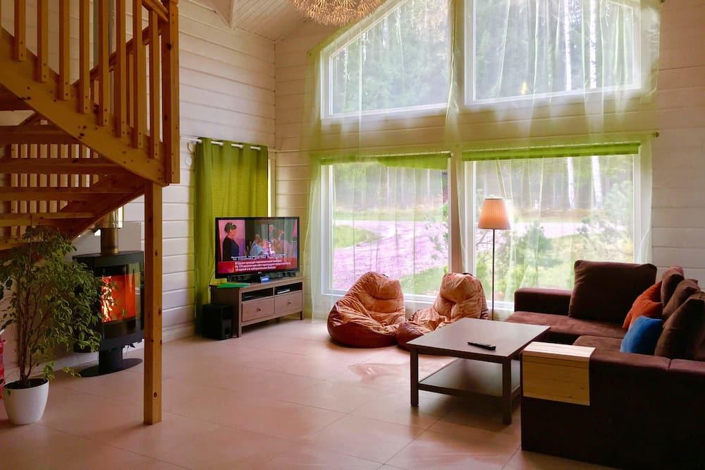 Standardna kućica, 6 spavaćih soba - Dnevna soba