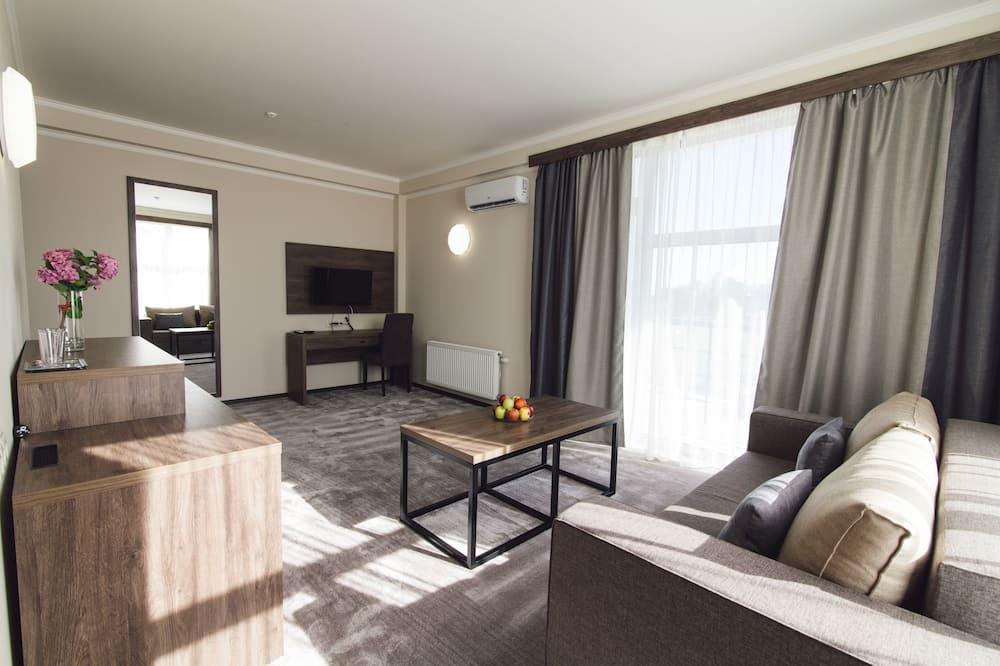 Suite, 1 chambre - Coin séjour