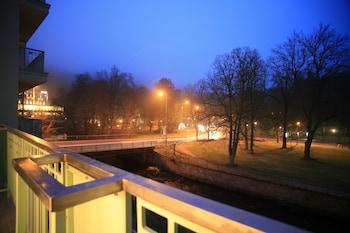 A(z) Slunecni lazne hotel fényképe itt: Karlovy Vary