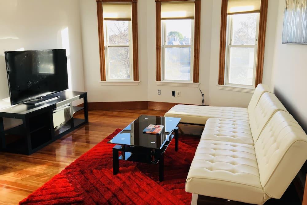 Comfort-huoneisto, Useita sänkyjä, Keittiö - Olohuone