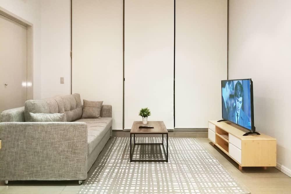 Lägenhet Design - 1 sovrum - tillgänglighetsanpassat - utsikt mot floden - Vardagsrum