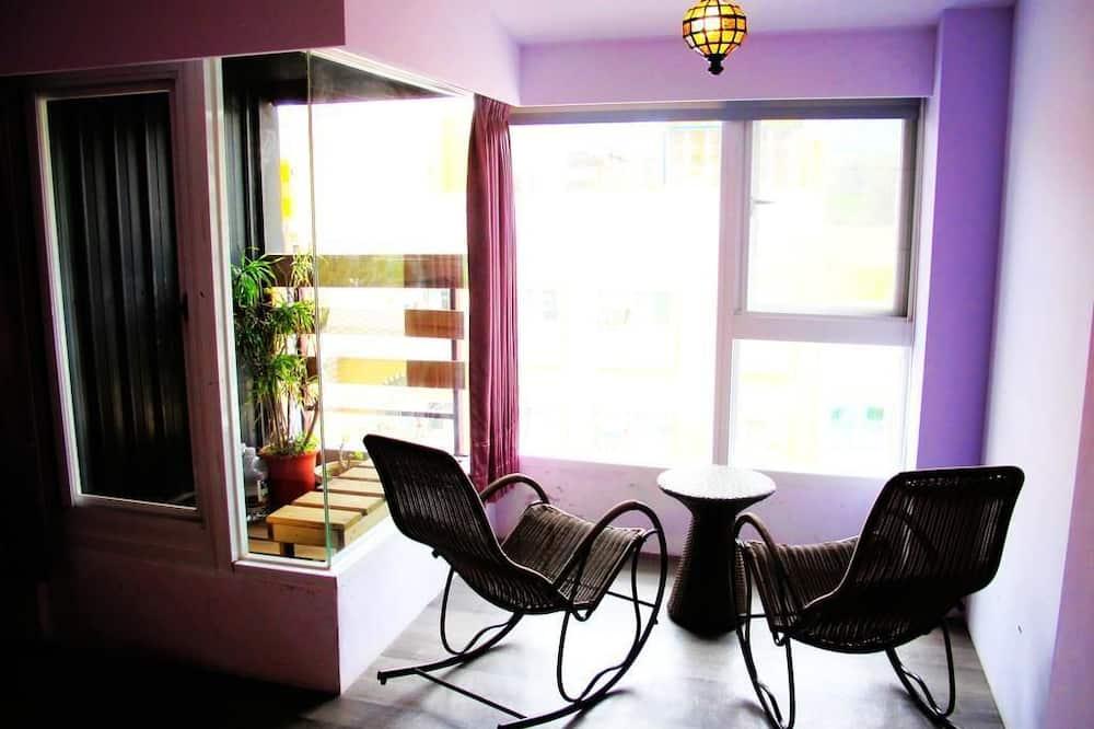 Paaugstināta komforta divvietīgs numurs - Dzīvojamā zona