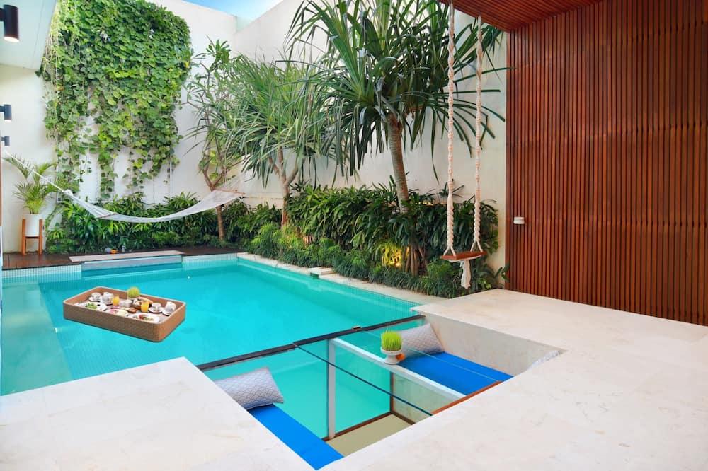 Villa - 2 sovrum - privat pool - Balkong