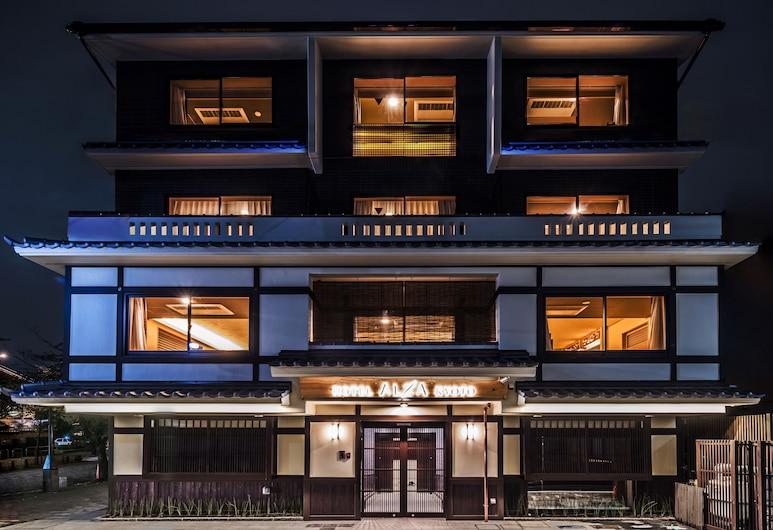 Hotel ALZA KYOTO, Kyoto, Hotel Front – Evening/Night