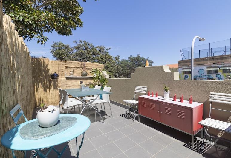 North Bondi Beach Apartment, North Bondi, Apartamento Gallery, 2 habitaciones, vistas parciales al mar, junto a la playa, Terraza o patio