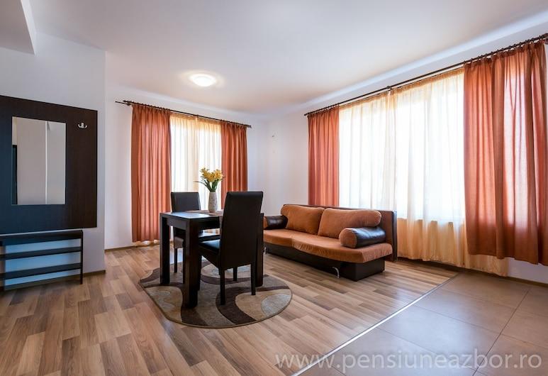 Pensiunea ZBOR, Cluj-Napoca, Fjölskyldusvíta, Stofa
