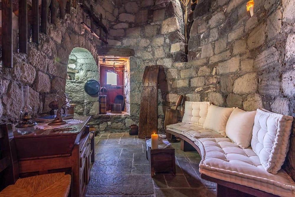 House, Sea View - Living Room