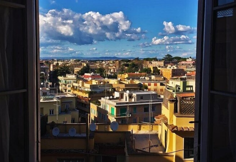 Vittorino Guest House, Rome, Deluxe Double or Twin Room, Private Bathroom, City View, Guest Room View