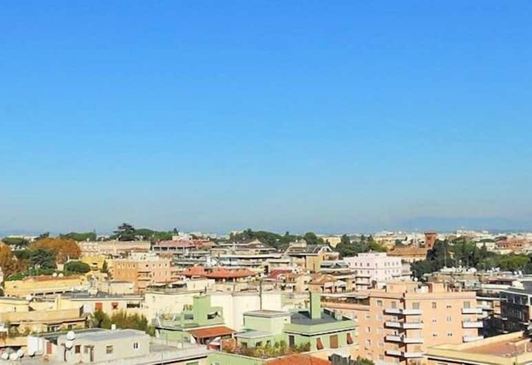 Vittorino Guest House, Rome, Deluxe Double Room, Private Bathroom, City View, Guest Room View