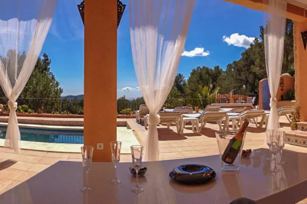 Villa, 5 magamistoaga, privaatbasseiniga - Terrass