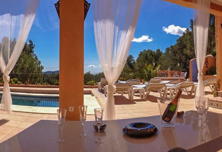 Casa Capricho, Сан-Хосе-де-са-Талая, Вілла, 5 спалень, приватний басейн, Тераса/внутрішній дворик