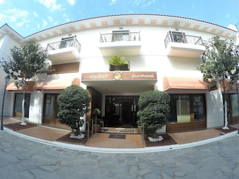 Foto van Kallisti Apartments in Skiathos