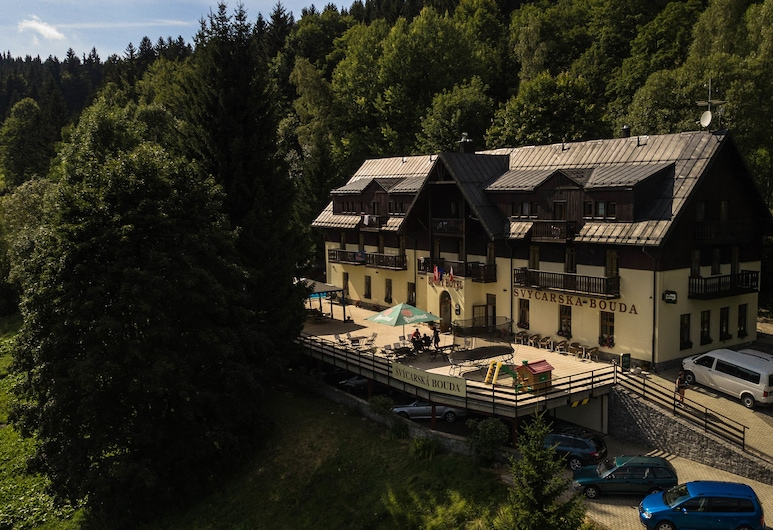 Sporthotel Švýcarská Bouda, Spindleruv Mlyn, Hótelframhlið
